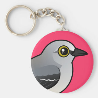 Birdorable Northern Mockingbird Keychain