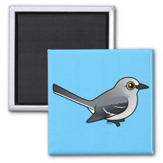Birdorable Northern Mockingbird Fridge Magnet