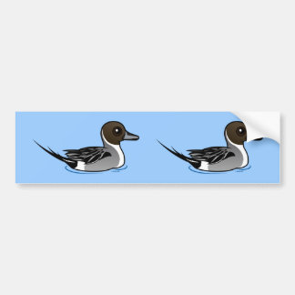 Birdorable Northern Pintail Bumper Sticker