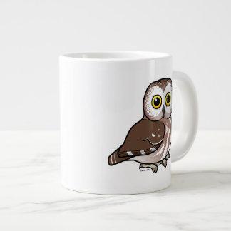 Birdorable Northern Saw-whet Owl Large Coffee Mug