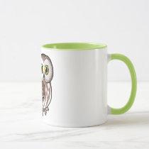 Birdorable Northern Saw-whet Owl Mug