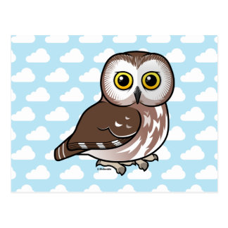 Birdorable Northern Saw-whet Owl Postcard