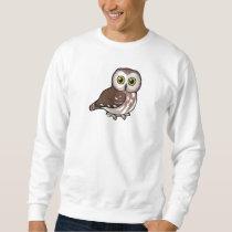 Birdorable Northern Saw-whet Owl Sweatshirt
