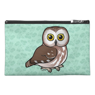 Birdorable Northern Saw-whet Owl Travel Accessory Bag
