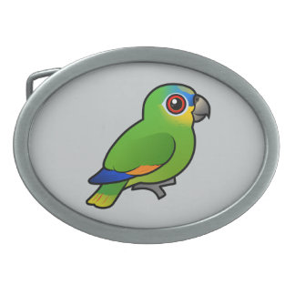 Birdorable Orange-winged Amazon Belt Buckle