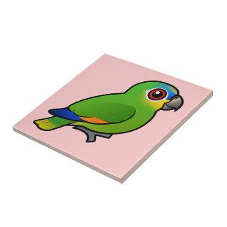 Birdorable Orange-winged Amazon Ceramic Tile