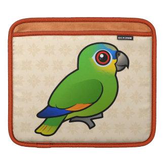 Birdorable Orange-winged Amazon Sleeve For iPads