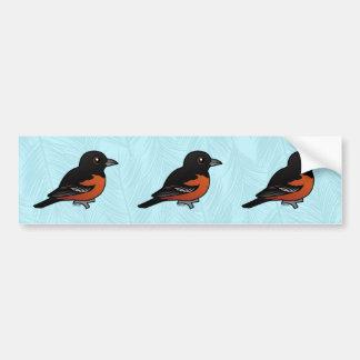Birdorable Orchard Oriole Bumper Sticker