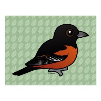 Birdorable Orchard Oriole Postcard