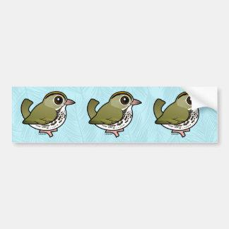 Birdorable Ovenbird Bumper Sticker