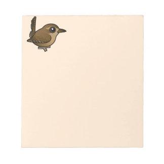 Birdorable Pacific Wren Notepad
