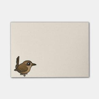 Birdorable Pacific Wren Post-it® Notes