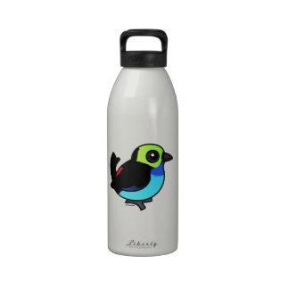 Birdorable Paradise Tanager Reusable Water Bottles