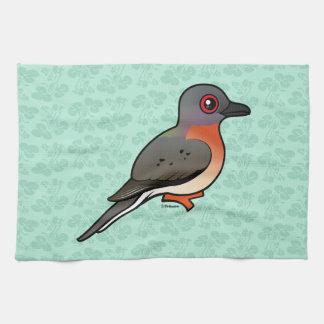 Birdorable Passenger Pigeon Towels