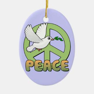 Birdorable Peace Dove Christmas Ornament