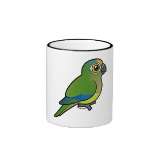 Birdorable Peach-fronted Parakeet Coffee Mug