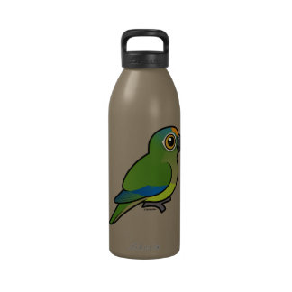 Birdorable Peach-fronted Parakeet Water Bottles