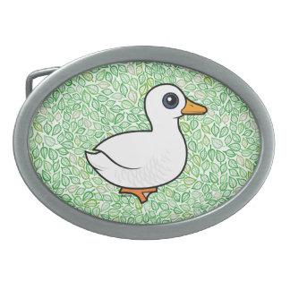 Birdorable Pekin Duck Belt Buckles