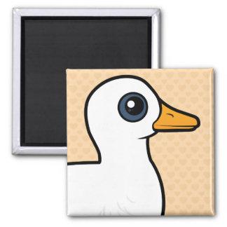 Birdorable Pekin Duck Magnet