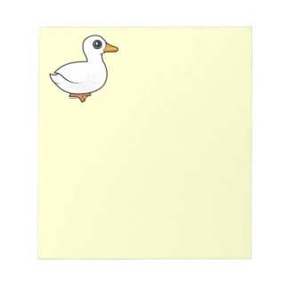 Birdorable Pekin Duck Memo Notepads