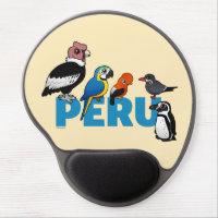Birdorable Peru Gel Mousepad