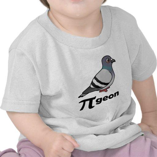 Birdorable PI-geon / Pigeon Pi Tee Shirts