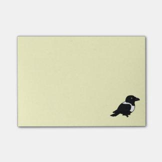 Birdorable Pied Crow Post-it® Notes