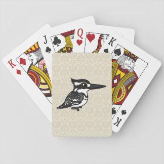 Birdorable Pied Kingfisher Deck Of Cards