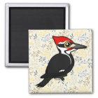 Birdorable Pileated Woodpecker Magnet