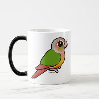Birdorable Pineapple Green-cheeked Conure Magic Mug