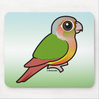 Birdorable Pineapple Green-cheeked Conure Mouse Pad