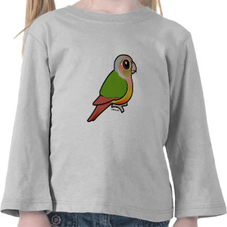 Birdorable Pineapple Green-cheeked Conure Tshirts