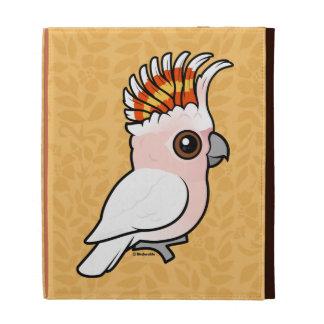 Birdorable Pink Cockatoo iPad Folio Cover