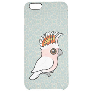 Birdorable Pink Cockatoo Clear iPhone 6 Plus Case