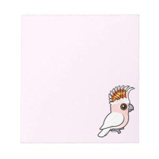 Birdorable Pink Cockatoo Notepad