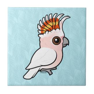 Birdorable Pink Cockatoo Tile