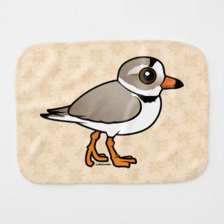 Birdorable Piping Plover Burp Cloth