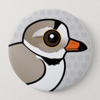 Birdorable Piping Plover Button