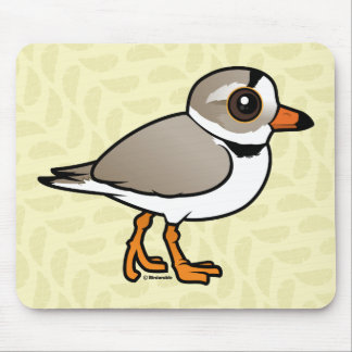 Birdorable Piping Plover Mouse Pad