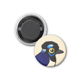 Birdorable Plush-crested Jay Refrigerator Magnet