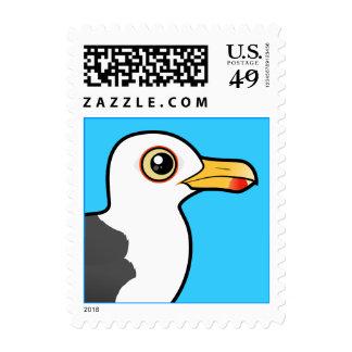 Birdorable poca gaviota de espalda negra sello