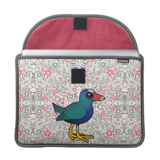 Birdorable Purple Gallinule Sleeve For MacBook Pro