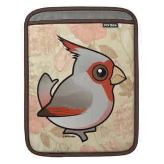 Birdorable Pyrrhuloxia iPad Sleeve