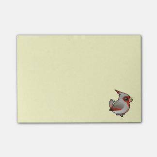 Birdorable Pyrrhuloxia Post-it® Notes