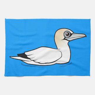 Birdorable que nada Gannet septentrional Toalla