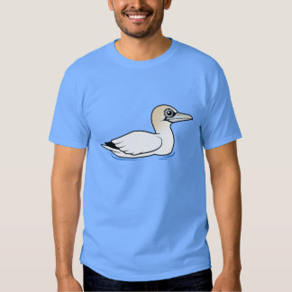 Birdorable que nada Gannet septentrional Playera