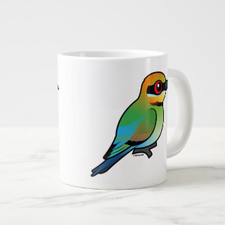 Birdorable Rainbow Bee-eater Large Coffee Mug