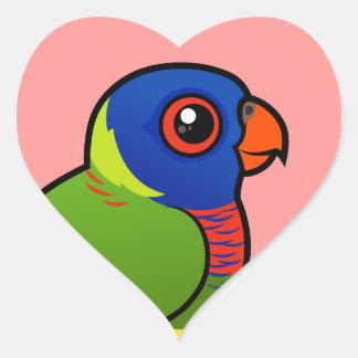 Birdorable Rainbow Lorikeet Heart Sticker