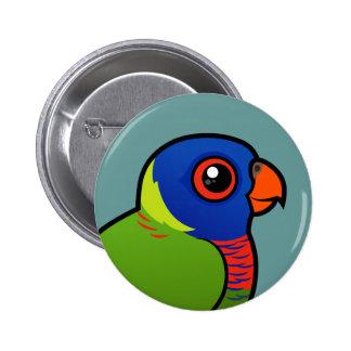 Birdorable Rainbow Lorikeet Pinback Button