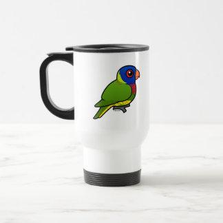 Birdorable Rainbow Lorikeet Travel Mug